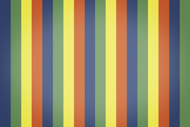 Zrzut ekranu pakietu Colorful Stripes