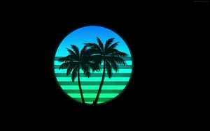 Ikona za Retrowave Sunset