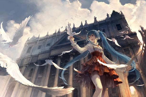 Screenshot for Hatsune Miku Sky