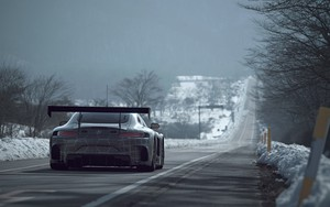 Значок для Mercedes Benz SLS AMG GT3 on the Road