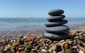 Pebbles on the beach के लिए आइकन