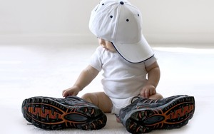 Icône pour baby and sport shoes