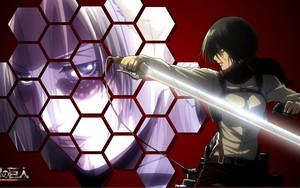 Ikona za Mikasa vs Annie