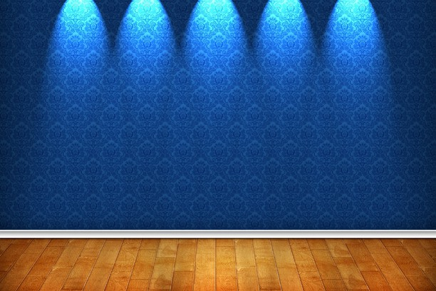 Screenshot di Blue Pattern