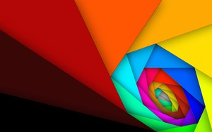 Ikona pakietu Color Whirl (Material Design)