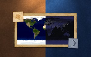 Icono de Day And Night On Map