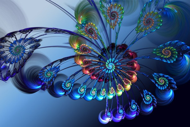 Screenshot for abstract feather