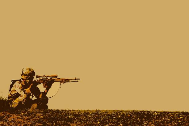 Bored Sniper wallpaper - Opera add-ons
