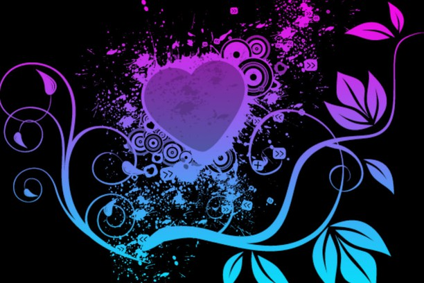 cool neon heart wallpaper - photo #21