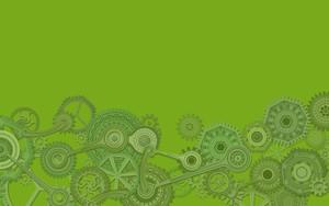 Ikona pakietu Mechanism Green