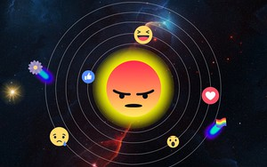 Icono de Facebook Reactions Universe