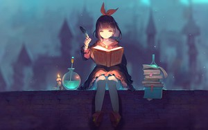 Значок для Anime cute witch