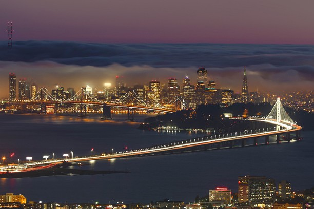 Снимок экрана для Amazing Low Fog Event in San Francisco