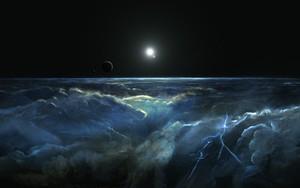 Stormy Atmosphere of Merphlyn ikonja