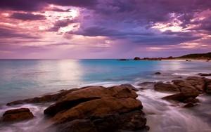 Значок для Pink Sky Over Sea