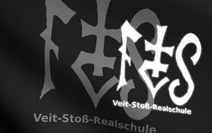 Значок для Veit-Stoß Realschule Flagge