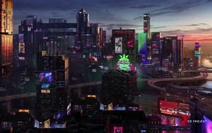 Cyberpunk 2077 Night City的图标