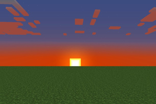 Minecraft Sunset Wallpaper Opera Add Ons