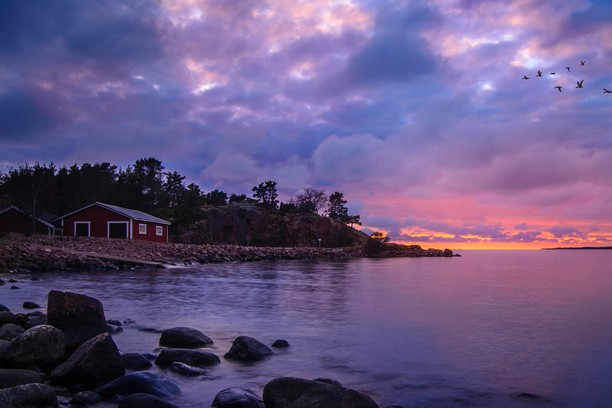 Снимок экрана для Sunset on Aland