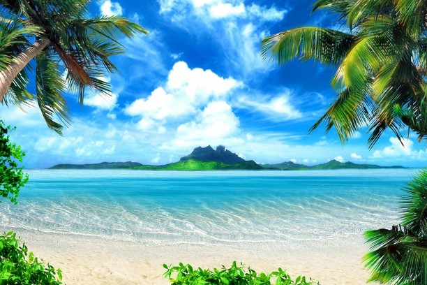 Снимка за Tropical-Beach-Background
