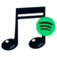 Pictogram voor recs2spotify