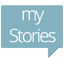 Icono de The Stories (sidebar edition)