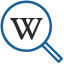 Search with Wikipedia™ 用のアイコン