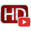 YouTube High Definition 用のアイコン
