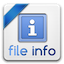 Icon for File Info