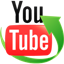 Symbol für YouTube Downloader