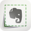أيقونة Evernote Web Clipper
