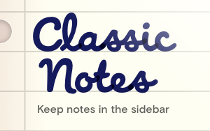 Classic Notes