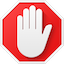 Symbol für AdBlock