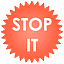 Ikona balíka Stop-it