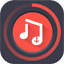 YOUTUBE MP3 DOWNLOADER 的圖示