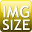 Ícone para Images dimensions