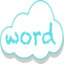 Icon for Word Cloud Generator