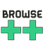 Pictogram voor Browse++