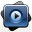 Symbol für Send to MPlayer media player