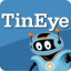 Pictogram voor TinEye Reverse Image Search (Context menu)