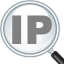 أيقونة IP Address and Domain Information