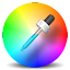 צלמית עבור ColorPicker Eyedropper