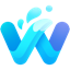 أيقونة Open in Waterfox